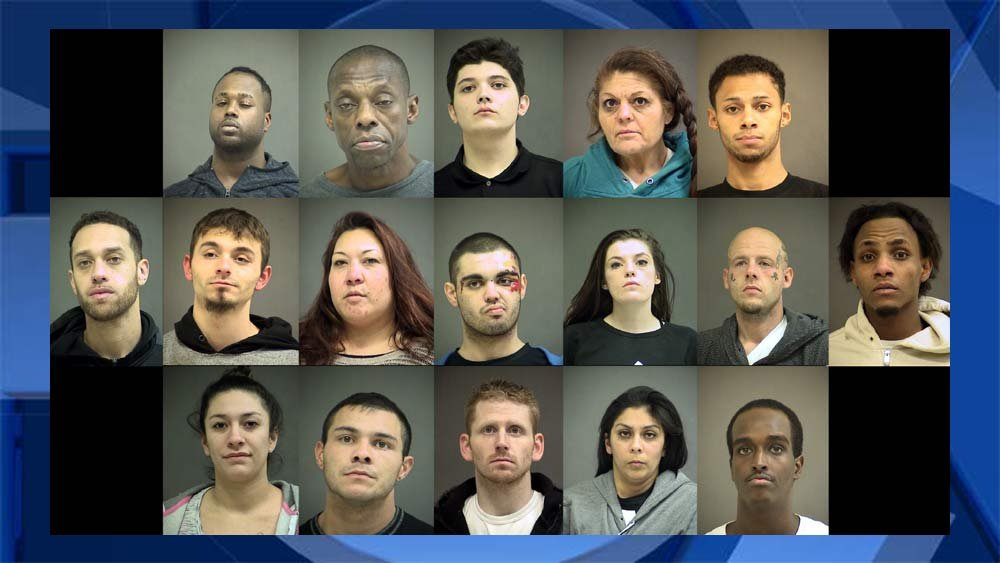 Jail booking photos provided by the Washington County Sheriff's Office.