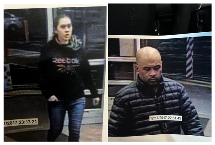 Surveillance images of the suspects (Battle Ground Police Department)