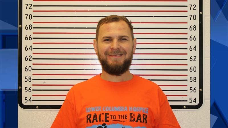 Timofey Erofeeff, jail booking photo