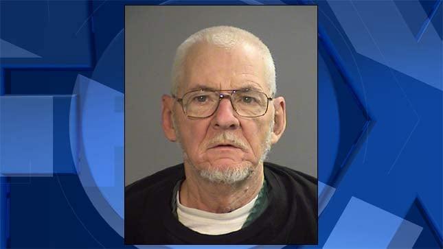 Jerry Duane Lodge, jail booking photo
