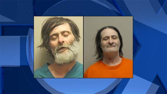 David McDaniel, jail booking photos