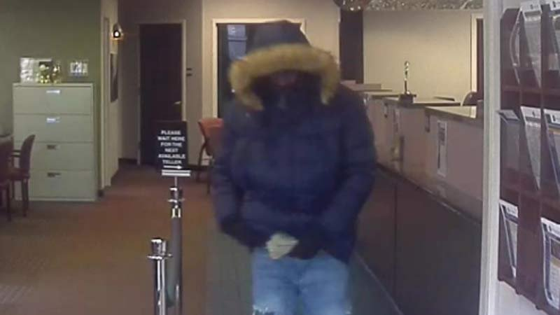 Albina Community Bank robbery suspect. (Portland Police Bureau)