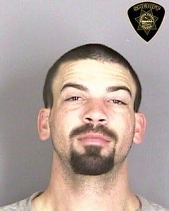 Cameron Phillip Goulet prior booking photo (Marion Co. Sheriff's Office)