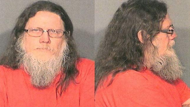 Douglas James Young Jr., jail booking photo
