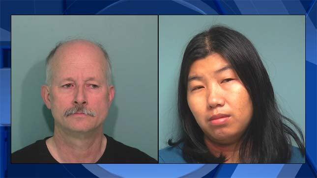 Matthew McDaniel, Michu Uaiyue, jail booking photos