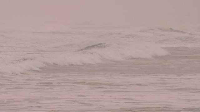 Oregon coast battered by high surf