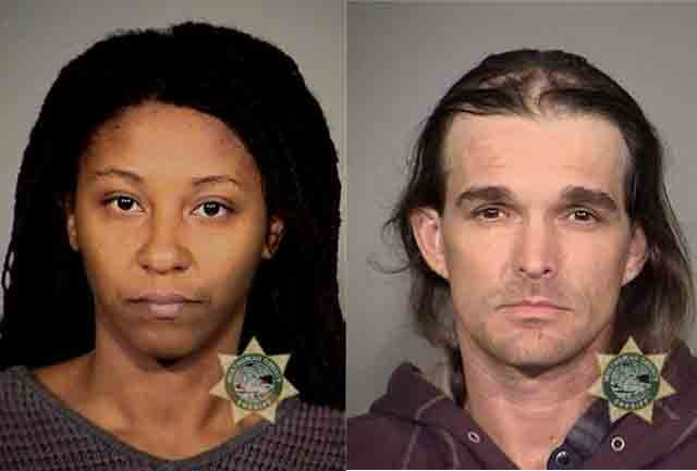 Anastasia Mendez and Bruce Grippen were first arrested in September in connection with luggage thefts at PDX.