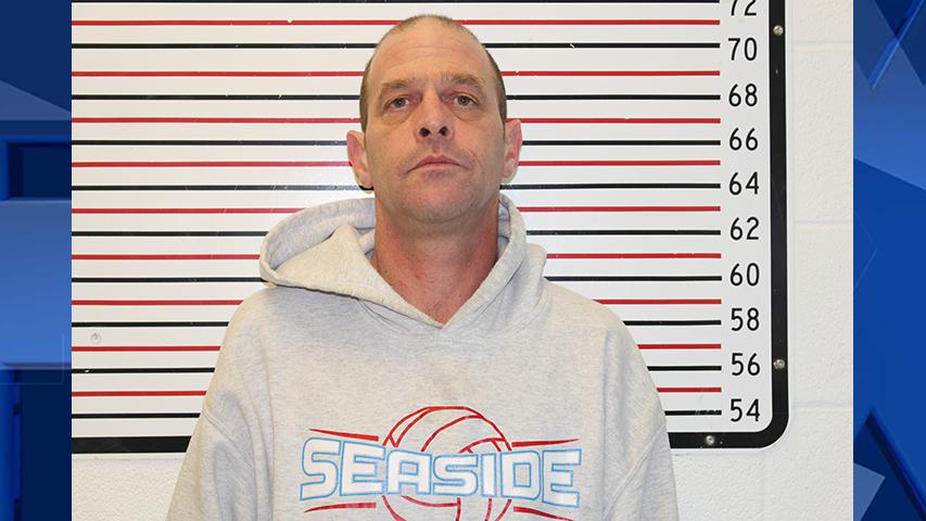 Keith Davis, jail booking photo (Clatsop County Jail)