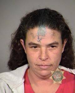 Police say they arrested Angie Hallanger on Monday.