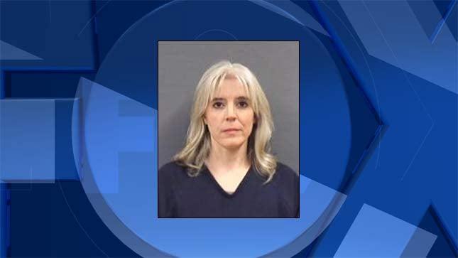 Nicole Wood, jail booking photo