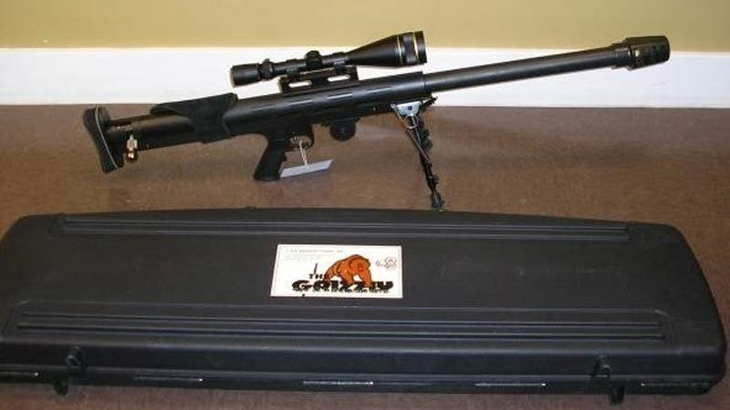 Photo of rifle similar to one stolen in Gresham. (Image from Gresham Police Department)