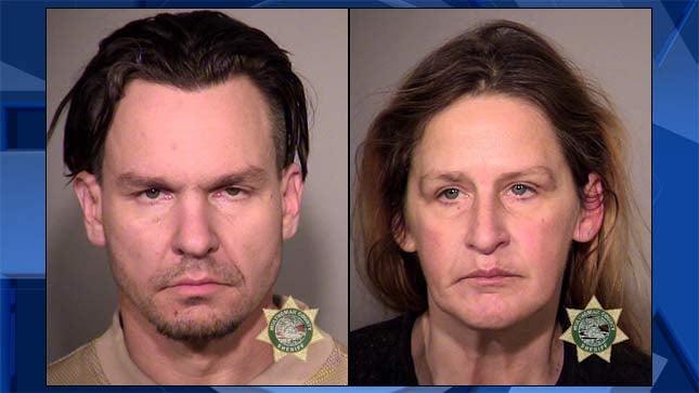 Christopher Biggs, Kimberlee Riedy, jail booking photos