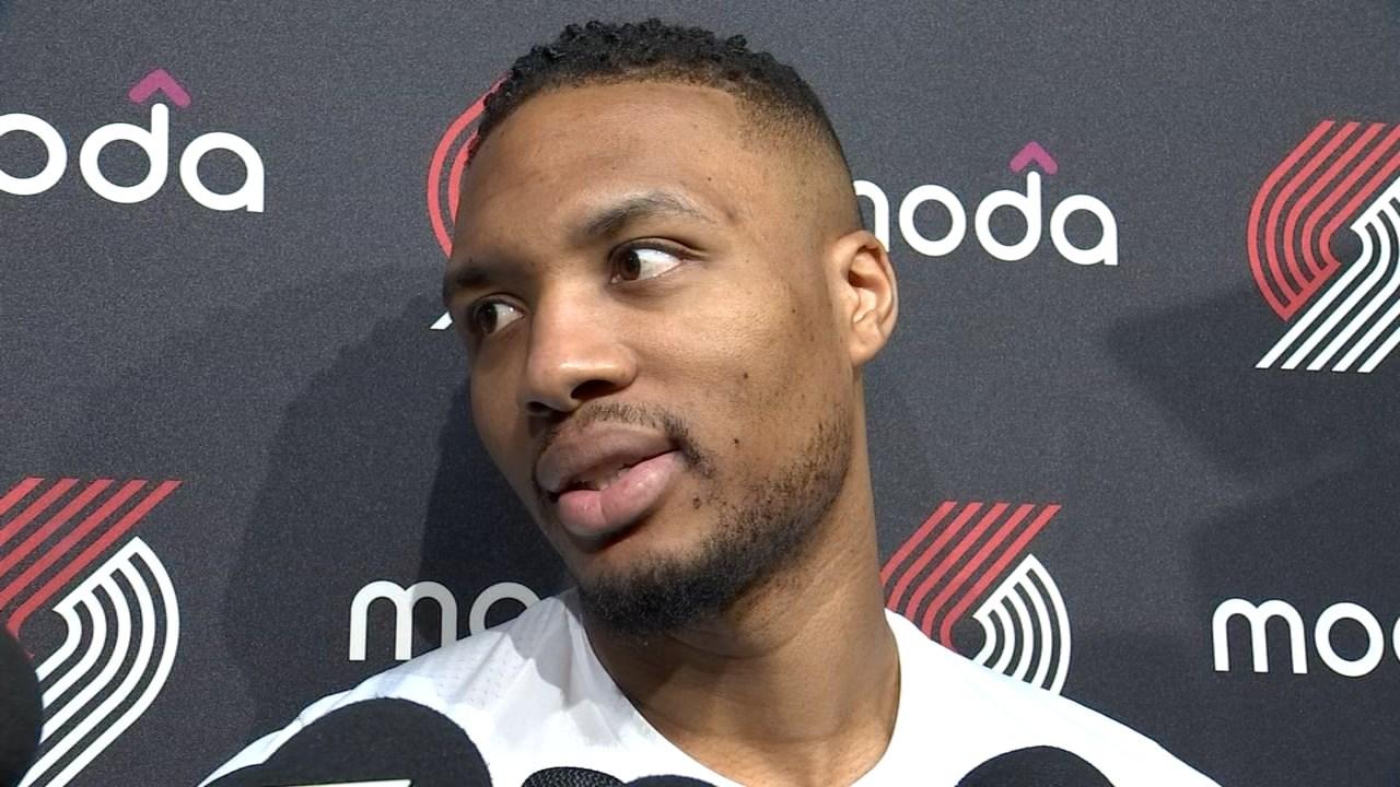 Damian Lillard's 41 points lifts Blazers past Pelicans