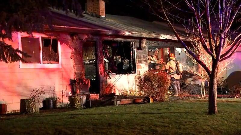 Crews Respond To Gresham House Fire Cbs46 News