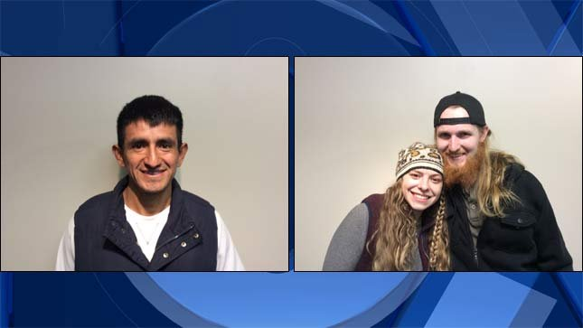 Raymundo Martinez, on left, Marissa and Chris Kolde, on right. (Photos: Oregon Lottery)