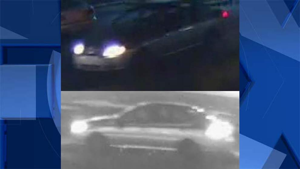 Surveillance images of car in deadly Gresham hit-and-run investigation. (Images: Gresham Police Department)