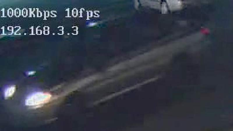 Surveillance image of car in deadly Gresham hit-and-run investigation. (Image: Gresham Police Department)