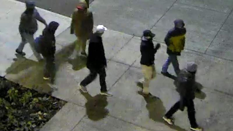 Surveillance image: Portland Community College Public Safety/Crime Stoppers of Oregon