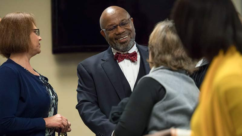 Dr. Miles K. Davis (Photo: Linfield College)