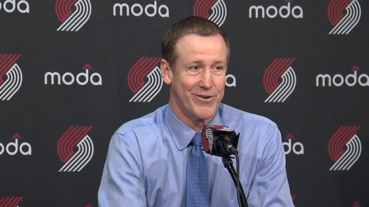 Blazers Coach Terry Stotts Named NBA Western Conference Coach Of - KPTV - FOX 12