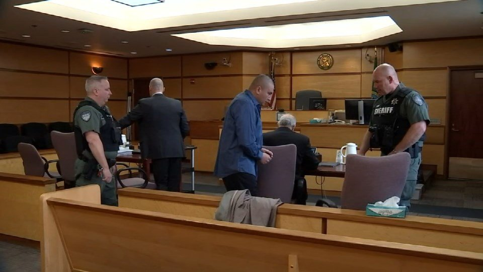 Ricardo Gutierrez was found guilty Thursday on charges of first-degree murder and assault in the May 2016 killing of 3-year-old Jose Castillo-Cisneros. (KPTV)