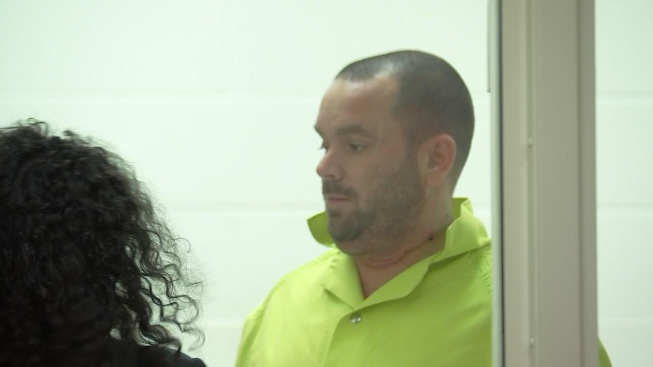 Jeremiah Johnston in court Thursday (KPTV)