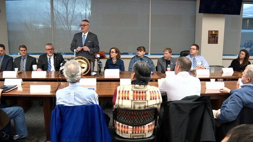 US Attorney Billy Williams at Interagency Summit (Image: KPTV)