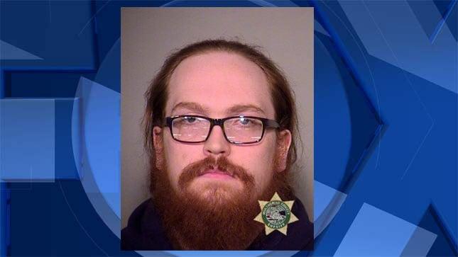Rory Morgan booking photo (Image: Multnomah County Jail)