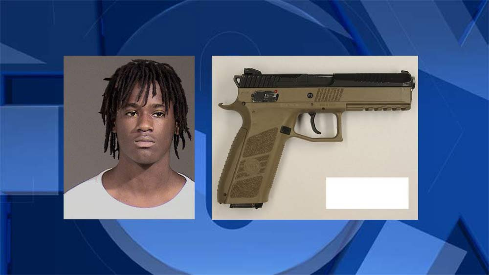 Quanice Hayes and replica firearm found near his body after deadly officer-involved shooting. (Photos released by Portland Police Bureau)