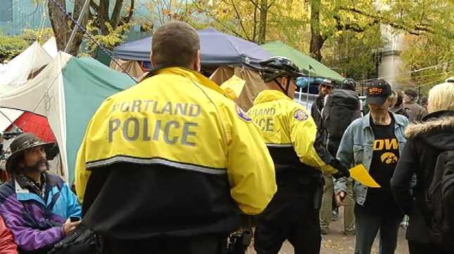 Police: OCCUPY PORTLAND calling for reinforcements - KPTV - FOX 12