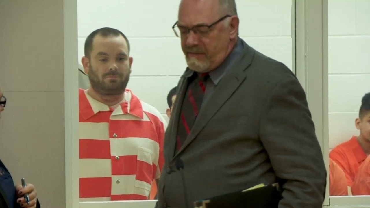 Jeremiah Ward Johnston in court Thursday (KPTV)