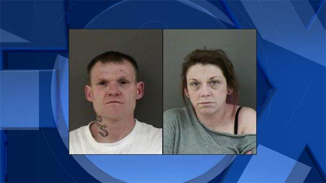 Eric Nathaniel Agee, Shawna Marie Smith, jail booking photos