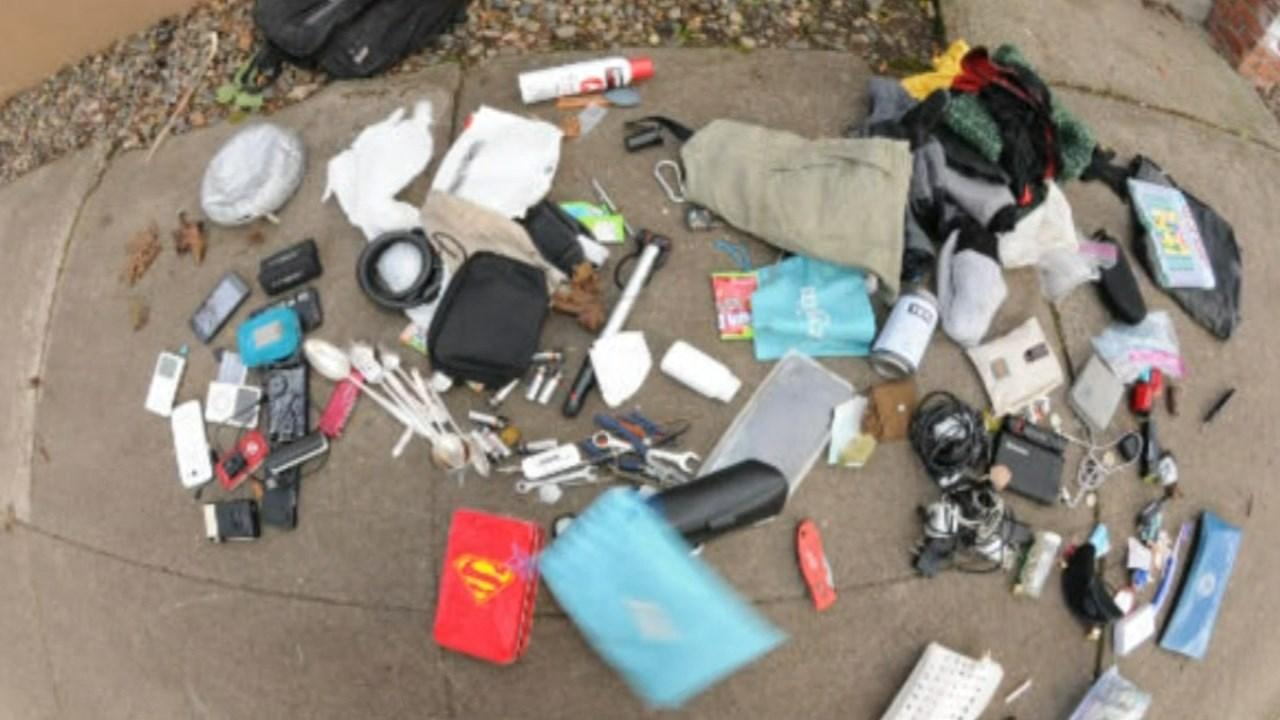 Stolen property found at the duplex. (Courtesy: Ken Jones)