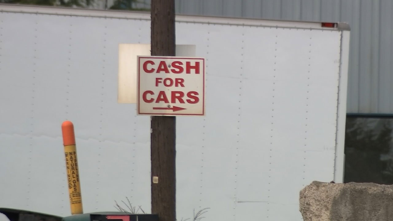 Selling used car to scrap yard turns into headache for local wom ...