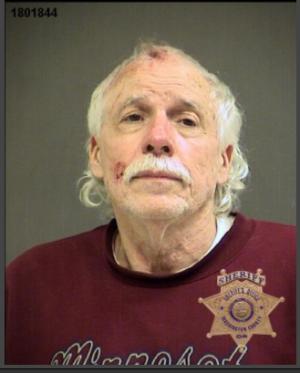 Leo Miller's booking photo from the Washington County Jail.
