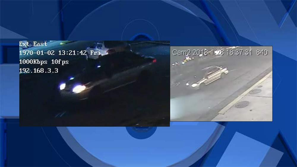 Surveillance images of car sought in Gresham hit-and-run investigation. (Gresham Police Department)