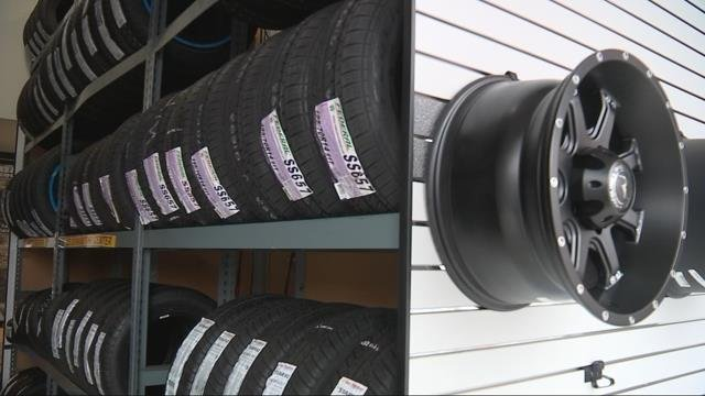 Snow sends flurry of customers to Les Schwab Tire Centers