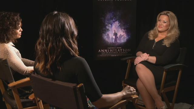 Stars of 'Annihilation' talk to MORE
