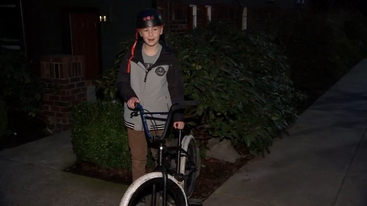 Portland Police reunite 12-year-old boy with stolen bicycle