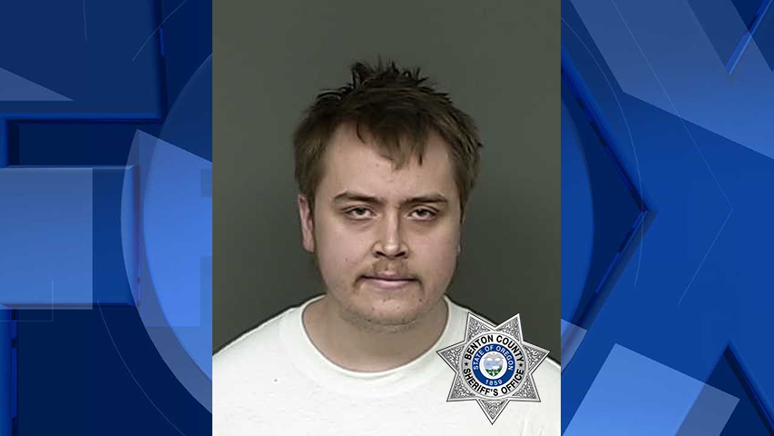 Christopher Adam Strahan, jail booking photo (Oregon State Police)