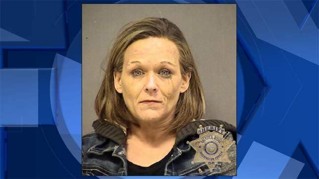 Melinda Lucero, jail booking photo