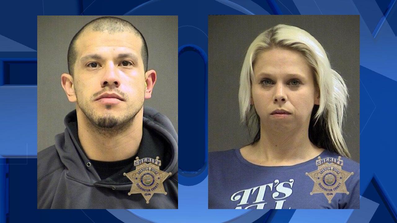 Adrian Mendoza, Melissa Springsted (Castro), jail booking photos