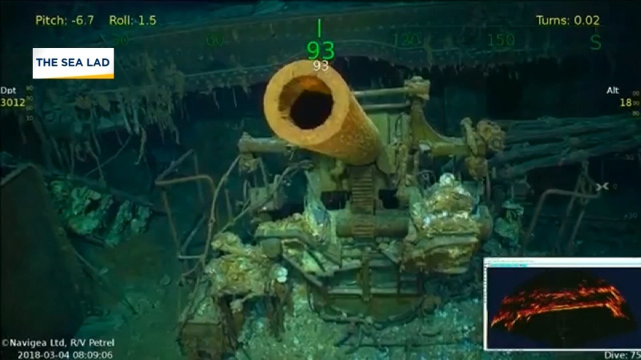 Lost WW2 aircraft carrier found in Australia