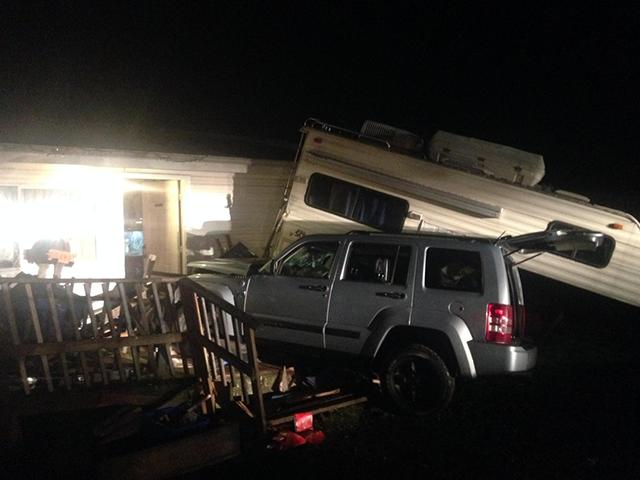 Amanda Smith's DUII crash (Clackamas County Sheriff's Office)