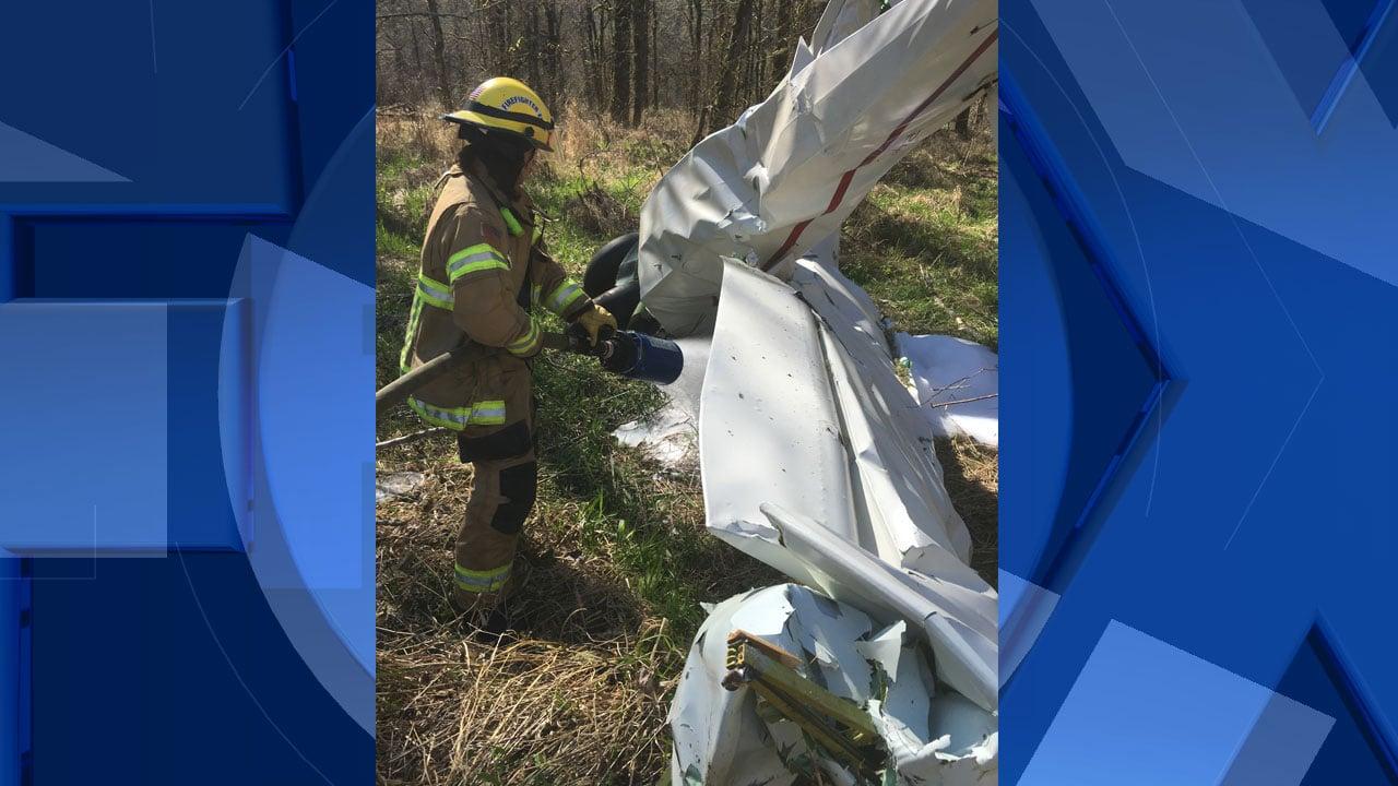 Pilot killed in plane crash in Clark County