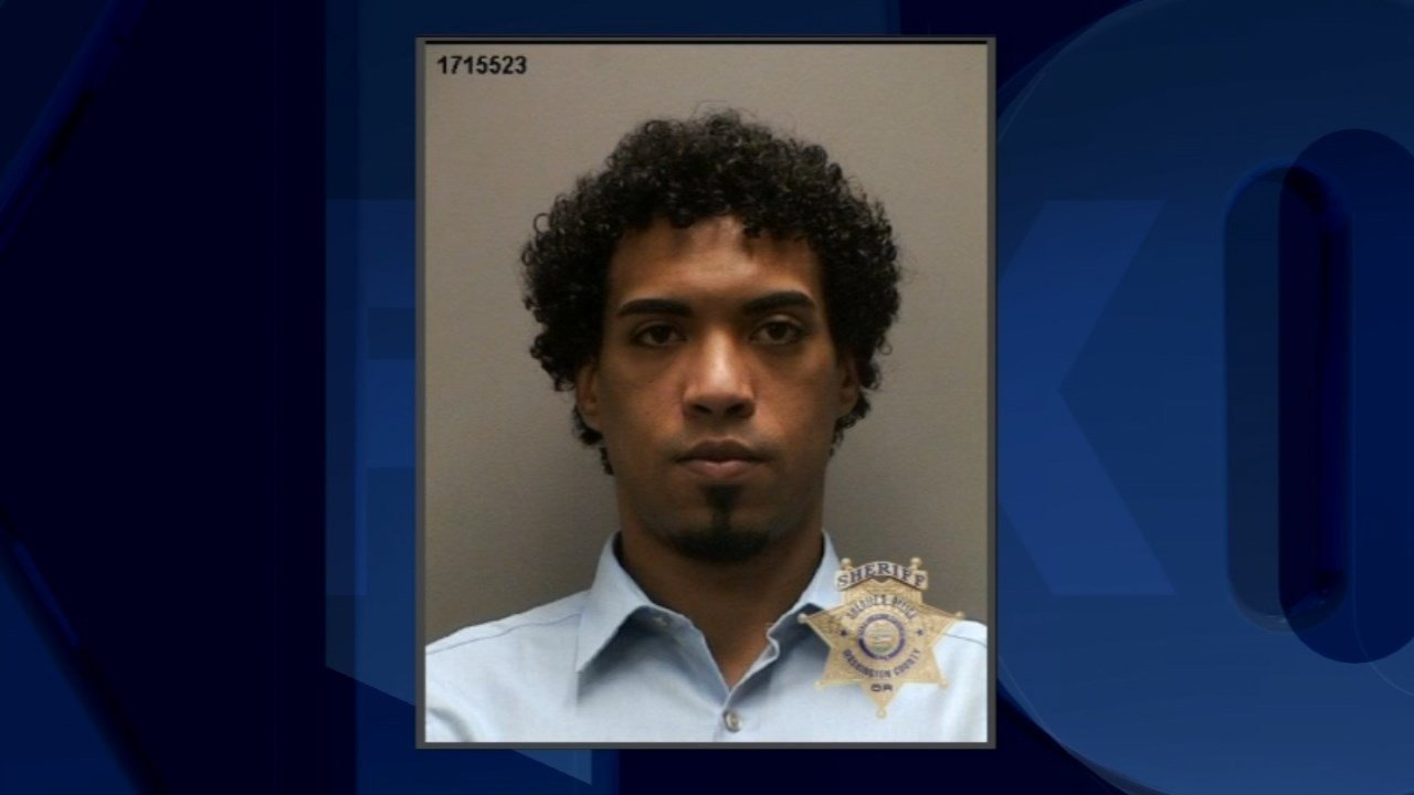 Micah Rhodes, jail booking photo