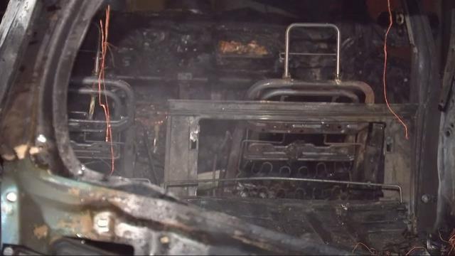 Car catches fire at Beaverton apartment complex