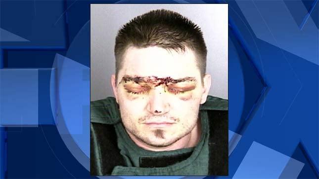 Zackary Miles Pevey, jail booking photo