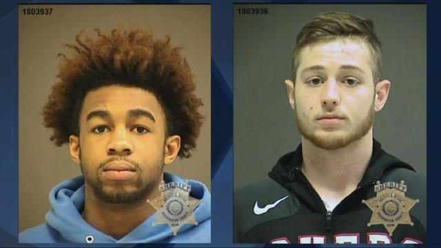 Deputies: Two Pacific University football players face robbery, riot charges