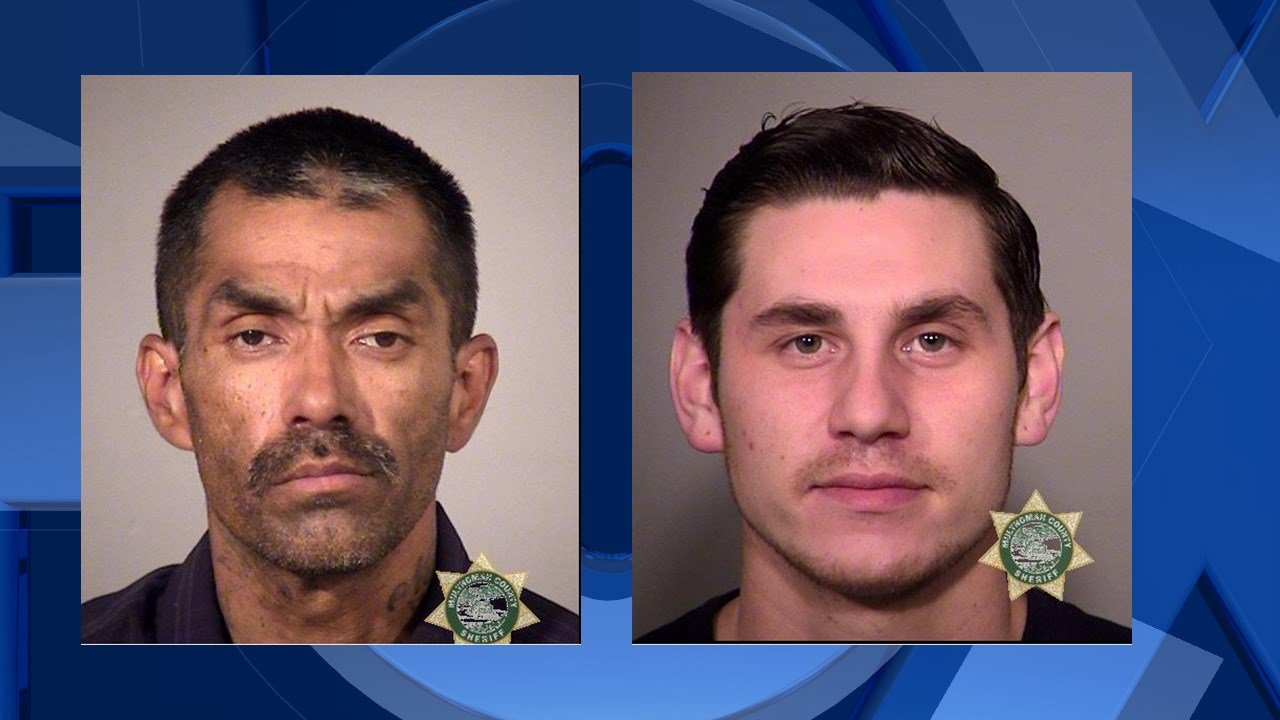 Perez and McCoy booking photo (Image: Beaverton Police Department)